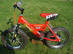 Raleigh Mini bike Excellent condition 14