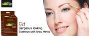 Natural and Organic Cosmetics | Eyebrow design and henna tint